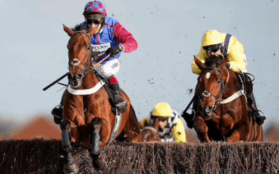 La Bague Au Roi the heroine of the Flogas Novice Chase at Leopardstown under Richard Johnson